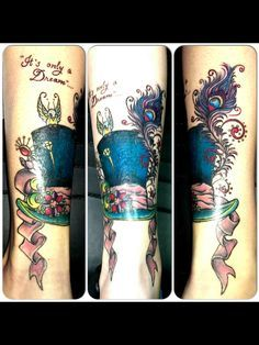 Whimsical Tattoos on Pinterest | Rib Cage Tattoos Mouse Tattoos and ...
