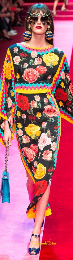 Dolce & Gabbana Spring 2018 RTW #MFW #ss18 #sunglasses