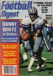 1981-Football-Digest-Danny-White-Dallas-Cowboys