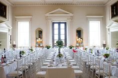 Ideal wedding venues for your spring wedding - Kirtlington Park Country House Wedding Venues, Wedding Venues Uk, Party Venues, Married At First, Getting Married, Wedding Inspiration, Wedding Ideas, Spring Wedding, Table Settings