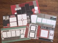 Beautiful 5 double page layout kit availabile for Jack Paper Pack from Close to My Heart. Kit designed by Laura Fairbrother for www.foreverscraps.com.