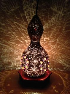 Gourd Lamps Decoration With Modern Design Awesome Gourd Lamps Decoration