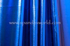4 Way Metallic Spandex-shiny (Royal) Spandex, Mamma Mia, Fabric, Dc Comics, Metallic, Cosplay, Exercise, Pullover, Color