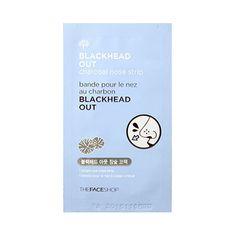 [THE FACE SHOP_LIMITED] Blackhead Out Aloe Nose Strips - 1pcs