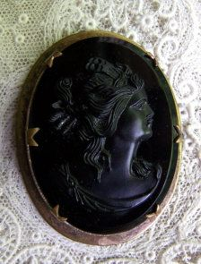 Cameo in Brooches - Etsy Jewellery