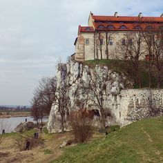 Loving Poland Tyniec in early Spring
