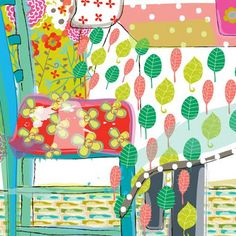 Designer - Maia Ferrell on the Print and Pattern blog