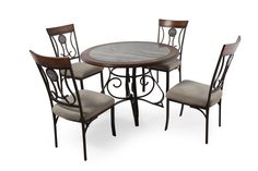 ashley hopstand fivepiece dining set mathis brothers furniture