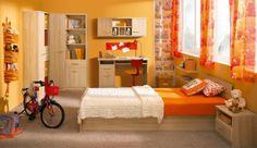 Dětský pokoj Sid uvádíme jako příklad jedné z mnoha sestav. Jednotlivé díly lze vybrat každý zvlášť. Bunk Beds, Furniture, Home Decor, Decoration Home, Loft Beds, Room Decor, Home Furnishings, Home Interior Design, Bunk Bed