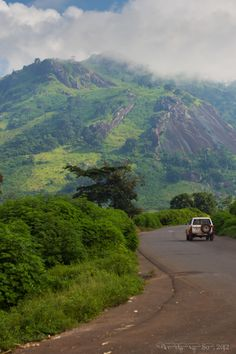 Near the beautiful town of Man, Cote d'Ivoire