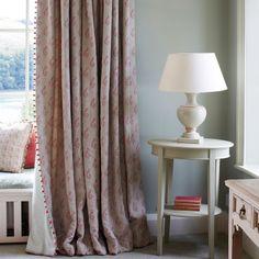 Linen - Shalini - Red -323 - Indian Summer - Fabric - Fabric & Interiors Susie Watson Designs