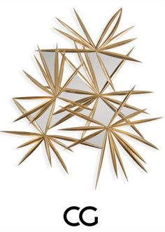 Introducing Stellaire: A cluster of starburst forms in exquisitely hard carved wood are scattered with mirror panes, to create a spectacular piece bridging wall art and a practical mirror frame. Discover this new piece for the first time at #HPMKT 2 more weeks to #CGxHP #mirror #christopherguy