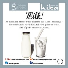 Sunnah food - milk