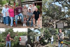 On Sept. 5, a wind storm hit a part of the greater Austin area, causing major damage, including removing the entire roof from one of our employees' homes.        A crew of caring fellow employees stepped up last week to help clear trees, brush and debris from the property, while many more rushed in to donate supplies and funds to help out.