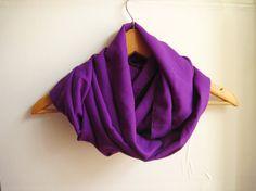 Purple Chiffon Scarf by dreamexpress on Etsy, $9.90