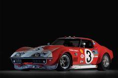 """1974 Greenwood Chevrolet Corvette IMSA Road Mini Poster 24/"""" x 36/"""""""