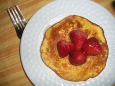 #paleo pancakes  4 eggs ¼ cup coconut flour ¼ cup yogurt (if you do cultured dairy) or coconut milk, or coconut milk kefir (the tang of cultured foods adds a wonderful dimension to these pancakes) 1 tbsp honey Dash salt Oil for frying (I prefer coconut)