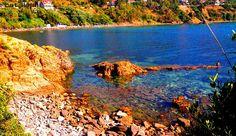 la plage rouge #jijel .#Algérie