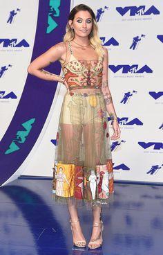 MTV VMAs 2017 Best Dressed Stars - Paris Jackson in Dior