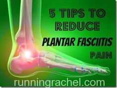 5 tips on how to reduce plantar fasciitis pain