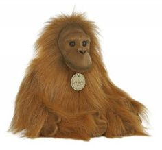 Miyoni Orangutan Medium by Aurora - 10854  This beautiful 11 inches Orangutan features high quality, hand air-brushed details, and is part of the new Miyoni line by Aurora. Aurora is internationally recognized for quality and design.