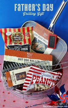 Father's Day Gift Set | Grilling Gift Idea for Father's Day | @kimbyers TheCelebrationShoppe.com #fathersday #giftfordad