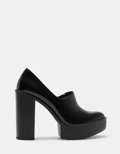 Zapato tacón track