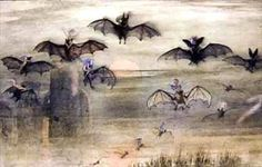 Richard Doyle - 'A Flight By Night Of Bats And Elves'