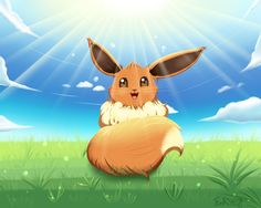 Eevee: Look At The Sun! by fireangel21.deviantart.com on @DeviantArt