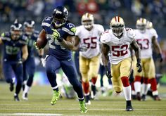 The Seattle #Seahawks earn a #SuperBowl trip by taking down the San Francisco #49ers in a heavyweight bout, 23-17. --> http://yhoo.it/19GhkC8  #NFL #Sports #Football