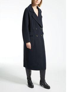 Max Mara JESSICA midnightblue: Pure wool coat.