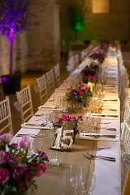 Hessian table runners would be great with a country chic theme... especially with hessian chair sashes!