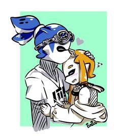 Imagen insertada Splatoon 2 Game, Nintendo Splatoon, Splatoon Comics, Lusamine Pokemon, Video Game Characters, Fictional Characters, Fanart, Steven Universe Comic, Super Smash Bros