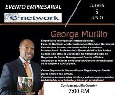 Evento George Murilli 5 de Junio