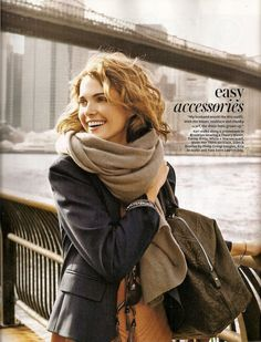 Keri Russell's style. I've never seen her look anything but classy and put together.