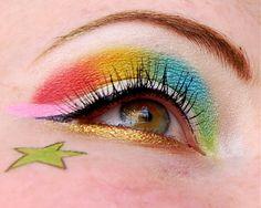 © Firefoux - unicorn makeup
