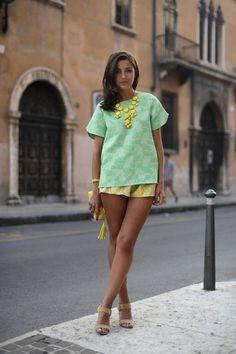 Verona Day 3   Lovely Pepa By Alexandra  #Zara #Top #Fernando Claro #Shorts #Lacambra #Bag #Bimba& Lola #Bag