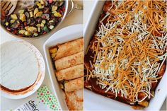 ... Eats on Pinterest | Enchiladas, Black Beans and Black Bean Enchiladas