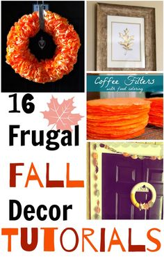 Seasonal decorating can be a budget-buster. But, if you're willing to do a bit of DIY you can use these 16 frugal fall decor ideas to add some seasonal spirit to your space on a budget.