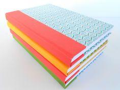 Tutorial ~ Make Upcycled Book Journals~(Elmers glue #GluenGlitter)