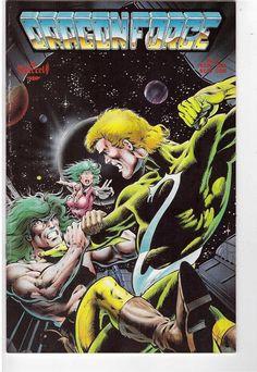 Dragonforce #3 Aircel Comics Comic Book 1988 Dragon Force Sci-F