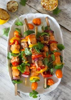 laksespyd Swedish Recipes, Frisk, Bruschetta, Summer Recipes, Nom Nom, Seafood, Food And Drink, Mexican, Lunch