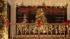 christmas window decor - Google Search