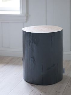 Laquered Tree Stool- Nordic Krosser