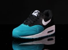 9fc2957e2a1174 Nike Air Max 1 GS - Black - White - Turbo Green - SneakerNews.com