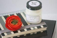 Amber Noir // Mason Jar Candle // Candles // Candle Gift //
