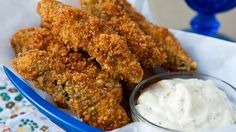 Blogger Angie McGowan of  Eclectic Recipes shares a recipe that will quickly become your new family favorite—crispy fried pickles!