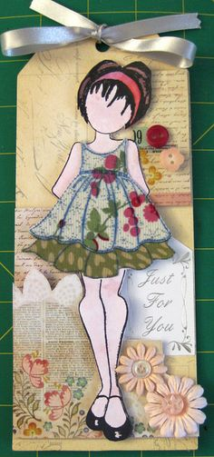 Dolly 3 (Prima Doll Stamp) - idea