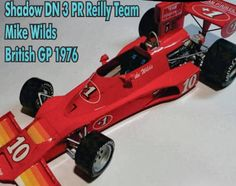 F1 Paper Model - 1976 British GP Shadow DN3 Paper Car Free Template Download