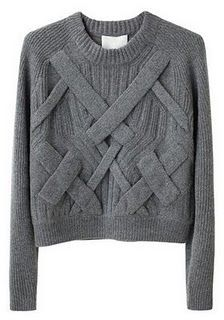 Cropped sweater by Philip Lim.